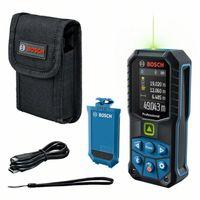 Bosch Professional GLM 50-27 CG Laser-Entfernungsmesser mit BA 3.7V 1.0 Ah Akku, Grüner Laser, Messbereich: 0.05 - 50 m, IP65, Bluetooth