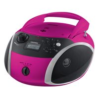 Grundig GRB 3000 BT pink/silber