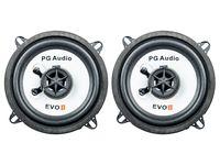 1 Paar PG Audio EVO II 13.2 F 13 cm Koaxial Auto Flachlautsprecher