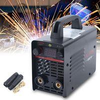 Inverter Schweißer Elektrodenschweißgerät Elektroden Inverter Schweißmaschine 220V IGBT 20A-225A Elektrodenschweißg Schweißgerät Digitalanzeige Ausgangsstrom