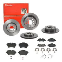 Brembo | Brembo | Bremsscheiben Coated + Beläge Vorne + Hinten MINI Mini F55 F56 F57 (SIZW22DXM3)