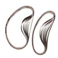 20 Stück Metall Schleifbänder Schleifband Bandschleifer 25 x 762 mm - Rot