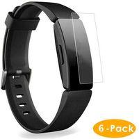 6x Schutzfolie Fitbit Inspire / HR Schutz Folie Displayschutz Klar Displayfolie