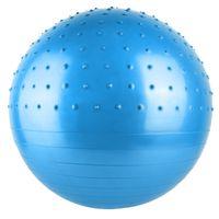Gymnastikball Sitzball Fitness 2in1 3 Größen 3 Farben Zuhause Büro Reha  5411, Größe:65 cm