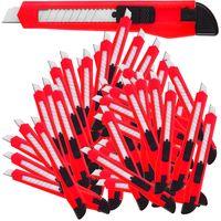 50-200 Stück Teppichmesser 9mm Cuttermesser Paketmesser Universal Cutter Deuba, Anzahl:50 Stück