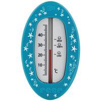 Badethermometer 0 bis 50°, blau