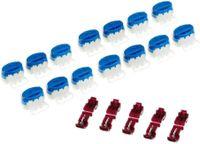 15 Kabel Verbinder + 5 Anschlussklemmen kompatibel für Gardena ® Mähroboter| Kabelverbinder in der wiederverschließbaren Box - Original 3M Scotchlok