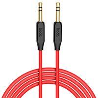1m 3.5mm Klinke auf 3,5mm Klinke Klinkenstecker AUX Kabel Stereo Audio Handy Rot