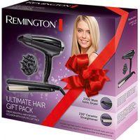 Remington D5215GP Geschenkpaketset - Haartrockner & Haarglätter - schwarz