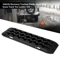 Universal 2X 10T Fahrzeug Car Recovery Traction Tracks Schneeschiene für Offroad 4x4 Rampen 107*30*5cm