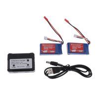 7.4v 1100mah Batterie Usb-Ladegerät für Wltoys A949 A959 A969 A979 V912 V913