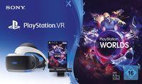 Sony PlayStation VR Brille inkl. Camera V2 U VR Worlds Voucher PlayStation VR + Kamera + VR Worlds (Version 2)