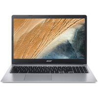 Acer Chromebook 15 (CB315-3HT-C4GR) / Celeron N4120/ 4 GB / 64 GB eMMC / UHD Graphics 600 / 15,6' Multi-Touch FHD mit IPS (matt) / Chrome OS, Farbe:Silber