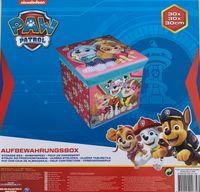 Paw Patrol Box Kinder Aufbewarungsbox Spielzeugkiste Spielzeugbox Kiste 50kg