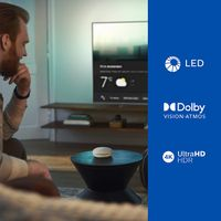 PHILIPS 55PUS7906 UHD 4K LED TV - 55 (139cm) - Ambilight 3 Seiten - Dolby Vision - Dolby Atmos Sound - Android TV HDMI 2.1 kompatibel
