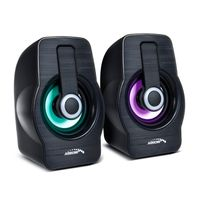 Audiocore AC855 B - 2-Wege - 2.0 Kanäle - Verkabelt - 3 W - 20 - 18000 Hz - Schwarz