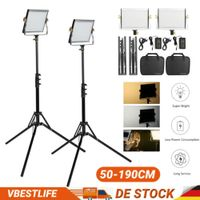 VBESTLIFE Dimmbar Video Lampe Licht Zweifarbig LED Satz Videoleuchte Stativ Kit