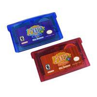 2 Stš¹ck Zelda Oracle of Seasons / Ages Spielkarte fš¹r GBA Game Boy Advance