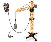 Dickie Toys 203462411 - Giant Crane, kabelgesteuerter Kran, 1 Meter hoch
