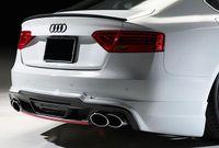 Kofferraumspoiler Heckspoiler Spoiler Lippe SELBSTKLEBEND für Audi A5 S5 RS5 8T
