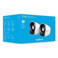 Laptop-Lautsprecher Logitech Z120 Weiß Schwarz (Refurbished B)
