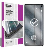 2x Samsung Galaxy S10 Schutzfolie klar Displayschutzfolie Folie Display Schutz