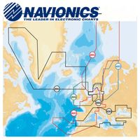 Navionics Plus Seekarte 9XL, Ausführung:DE Nord- u Ostseeküste. Dänemark. NO Süd. Südschweden. Seen DE