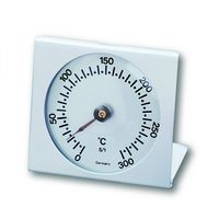 TFA DOSTMANN Aluminium Backofenthermometer weiß Edelstahl analog