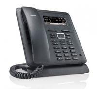 Gigaset Maxwell Basic IP-Telefon Schwarz Kabelgebundenes Mobilteil LCD 2 Zeilen - Plug-Type C (EU)