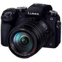 Panasonic Lumix DMC-G7H + G VARIO 14-140mm, 16 MP, 4592 x 3448 Pixel, Live MOS, 4K Ultra HD, Touchscreen, Schwarz