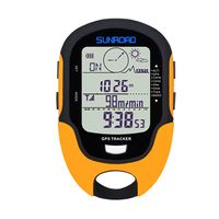Multifunktions LCD Digital GPS Hoehenmesser Barometer Kompass Tragbare Outdoor Camping Wandern Klettern Hoehenmesser mit Led-taschenlampe Multifunction LCD Digital GPS Altimeter Barometer Compass Portable Outdoor Camping Hiking Climbing Altimeter with LED Torch