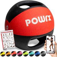 Medizinball Bunt versch. Gewichte mit 2 Handgriffen Studioqualität Gewicht: 5 kg