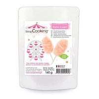 Fertigmischung für Zuckerwatte 160 g - Orange