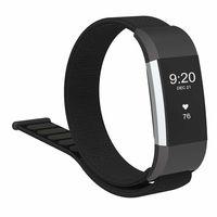Fitbit Charge 2 Armband Nylon schwarz