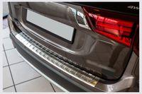 Ladekantenschutz mit Abkantung für Mitsubishi Outlander 3 Edelstahl Bj. 2015-