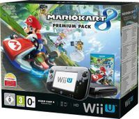 Nintendo Wii U Premium incl.Mario Kart 8 Bundle schwarz