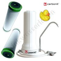 Carbonit Sanuno Sparset (inkl. 2x NFP Premium Filterpatrone) + GRATIS Ente
