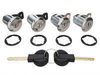 4x Türschloss Zylinder 2x Schlüssel für Partner Citroen Xsara Berlingo Picasso