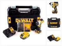 DeWalt DCF 887 P1 Akku Schlagschrauber 18V 205Nm Brushless + 19tlg. Bit Bohrer Set + 1x Akku 5,0Ah + Ladegerät + TSTAK