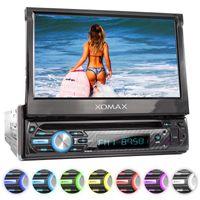 XOMAX XM-D750 18cm/7' DVD-Moniceiver USB SD BLUETOOTH