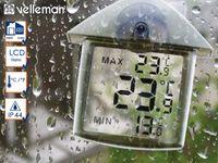 Innen Außenthermometer Fensterthermometer Min-Max-Funktion, Temperaturkontrolle