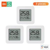 3 stuecke xiaomi bt thermometer 2 drahtlose smart electric digital hygrometer luftfeuchtigkeit sensor arbeit mit mijia app