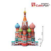 Cubic Fun 3D Puzzle St.Basil/'s Cathedral Basilius Kathedrale Moskau Mittel