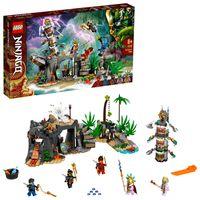 LEGO 71747 NINJAGO Das Dorf der Wächter Bauset, mit Ninja Cole, Jay und Kai Minifiguren, Spielzeug ab 8 Jahren