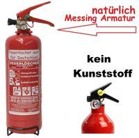 NEU2 kg ABC Feuerlöscher EN 3 + Drahthalter + Manometer Autofeuerlöscher
