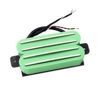 4-Spulen Hot Rail Humbucker Tonabnehmer Pickup für E-Gitarren Ersatzteile - Grün