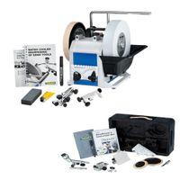 Tormek Nass-Schleifmaschine T8 Schärfsystem Schleifmaschine + TNT808 Drechseln
