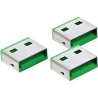 20er InLine® Port Blocker Nachfüllpack für USB Portblocker