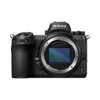 Nikon Z6 Gehäuse + FTZ Objektivadapter, Farbe:Schwarz