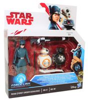 Hasbro Disney Star Wars Force Link Figuren Set Rose BB-8 und BB-9E